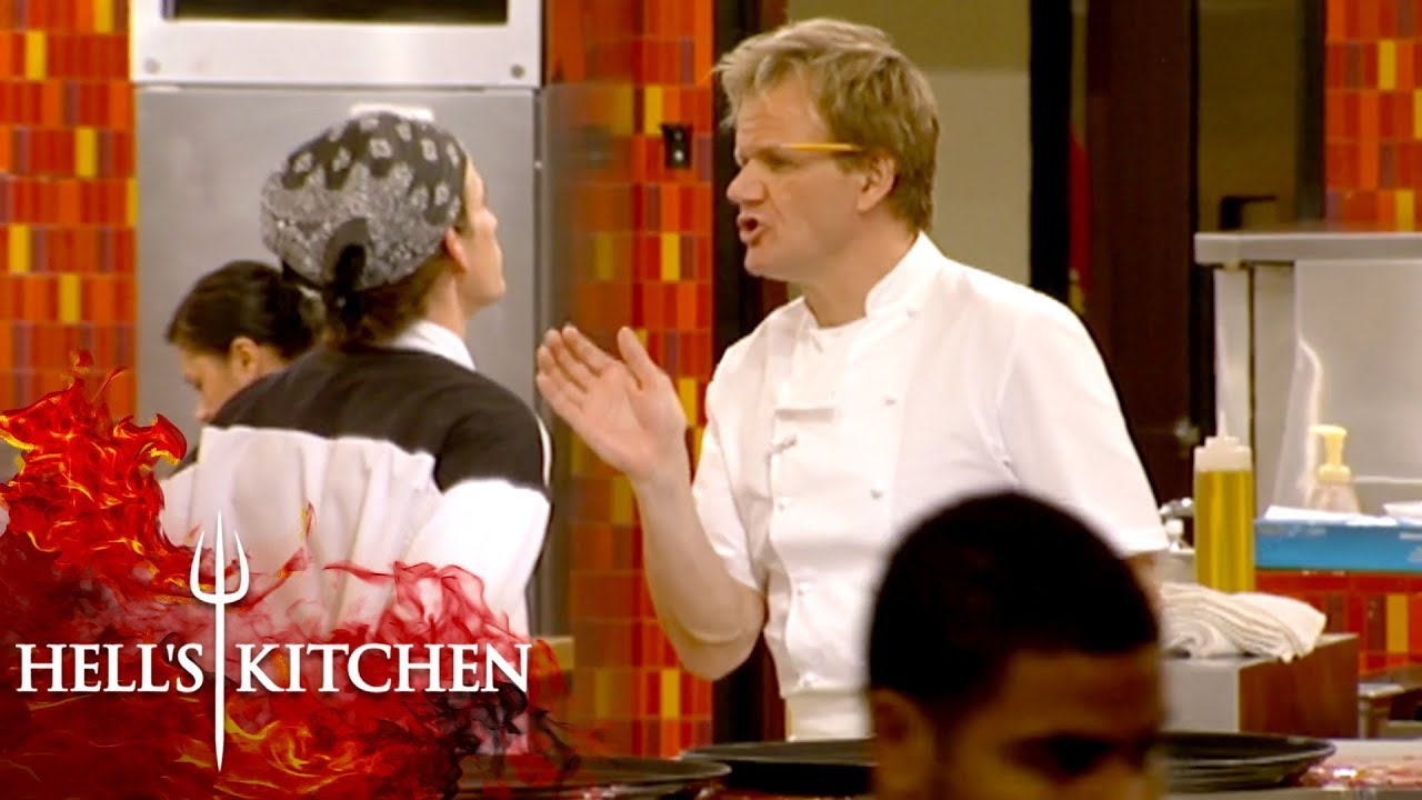 Every Season 2 Elimination In Hell S Kitchen Hell S Kitchen Youtube