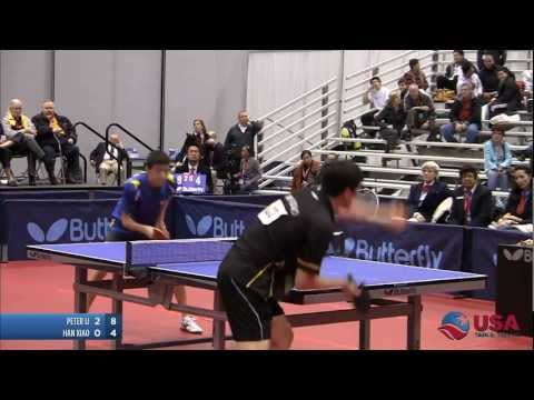 Men's Singles Final: Peter Li vs. Han Xiao - 2011 US Table T
