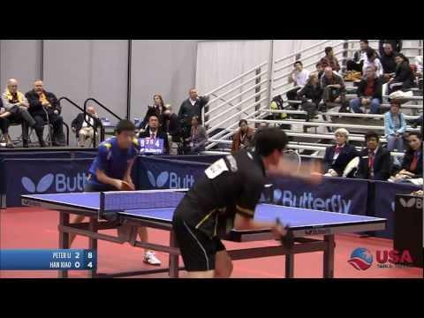 Men's Singles Final: Peter Li vs. Han Xiao - 2011 US Table Tennis Championships