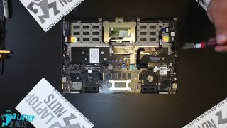 Laptop Lenovo Yoga 2 Pro Disassembly Take Apart. Drive, Mobo, CPU & other parts Removal