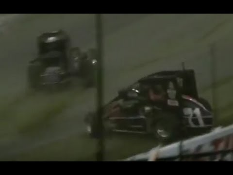 2013 Chili Bowl - Saturday A-Feature - Kevin Swindell 4-peats!!!!