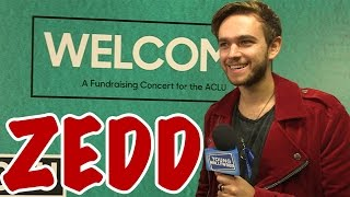 zedd credits skrillex for overcoming stage shyness