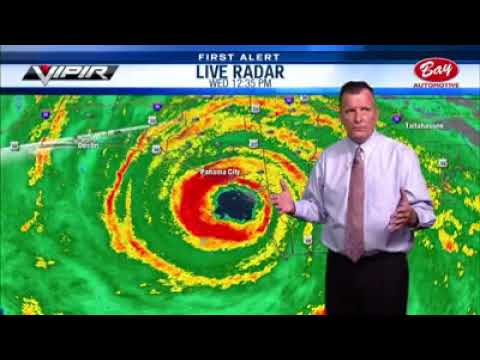 Mason - The Last Moments Before Hurricane Michael Knocked a TV Station Off The Air
