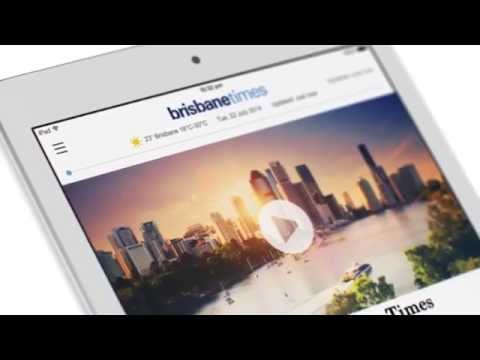 Brisbane Times iPad app Launch Video
