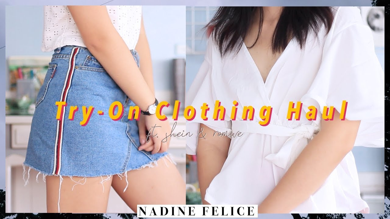 Try-On Clothing Haul (Philippines) ft. Shein & Romwe