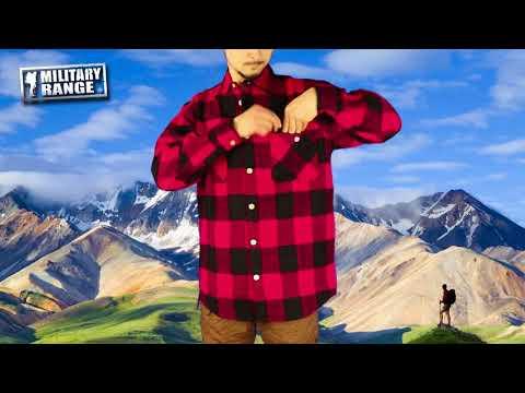 Košile dřevorubecká ROTHCO FLANNEL kostkovaná - Military Range CZ/SK