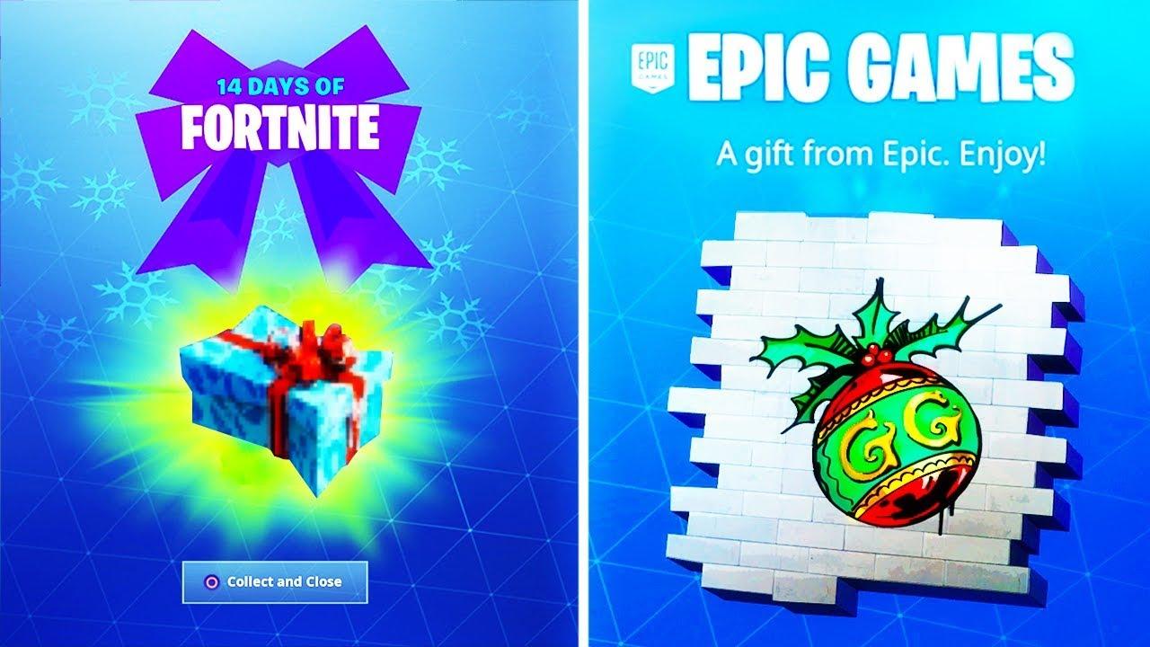 Fortnite 14 Days Of Christmas.Fortnite 14 Days Of Christmas Cheat Sheet Fortnite Annual