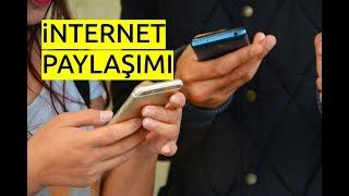 Samsung Telefondan Internet Paylaşımı (Mobil Veri Paylaşımı)