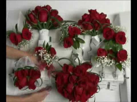 Rosesource Wedding In A Box Flower Arrangements Packaging And Preparations You