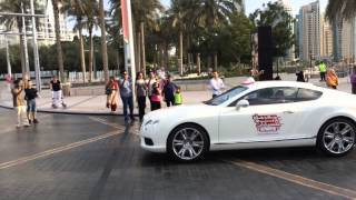 Dubai Super Cars And Bike Parade 28th November