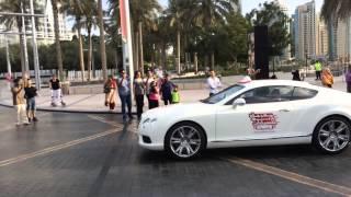 Dubai Super Cars And Bike Parade 28th November