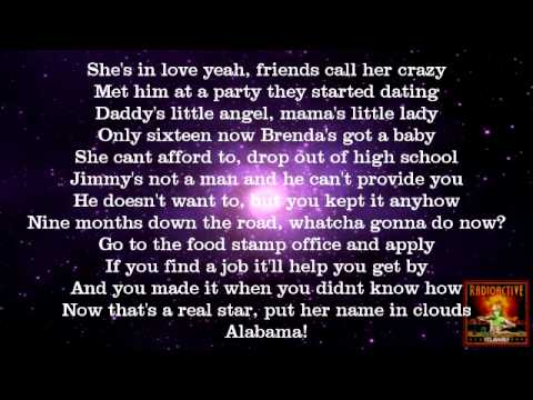 Yelawolf - Write Your Name (Ft. Mona Mona) (Not Sped Up + Lyrics on Screen) 2011 Radioactive