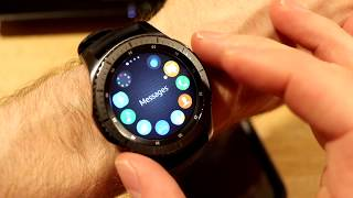 Samsung Gear S3 - Watchfaces, How to backup and restore your apps and Hello again!