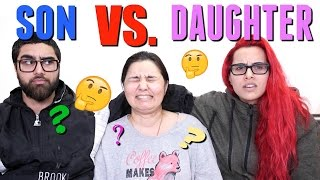 WHO KNOWS MOM BETTER?! SON VS DAUGHTER