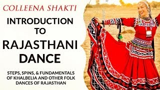 Basic Rajasthani Dance with Colleena Shakti