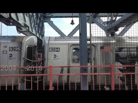 New York City Subway Dream on Williamsburg Bridge.