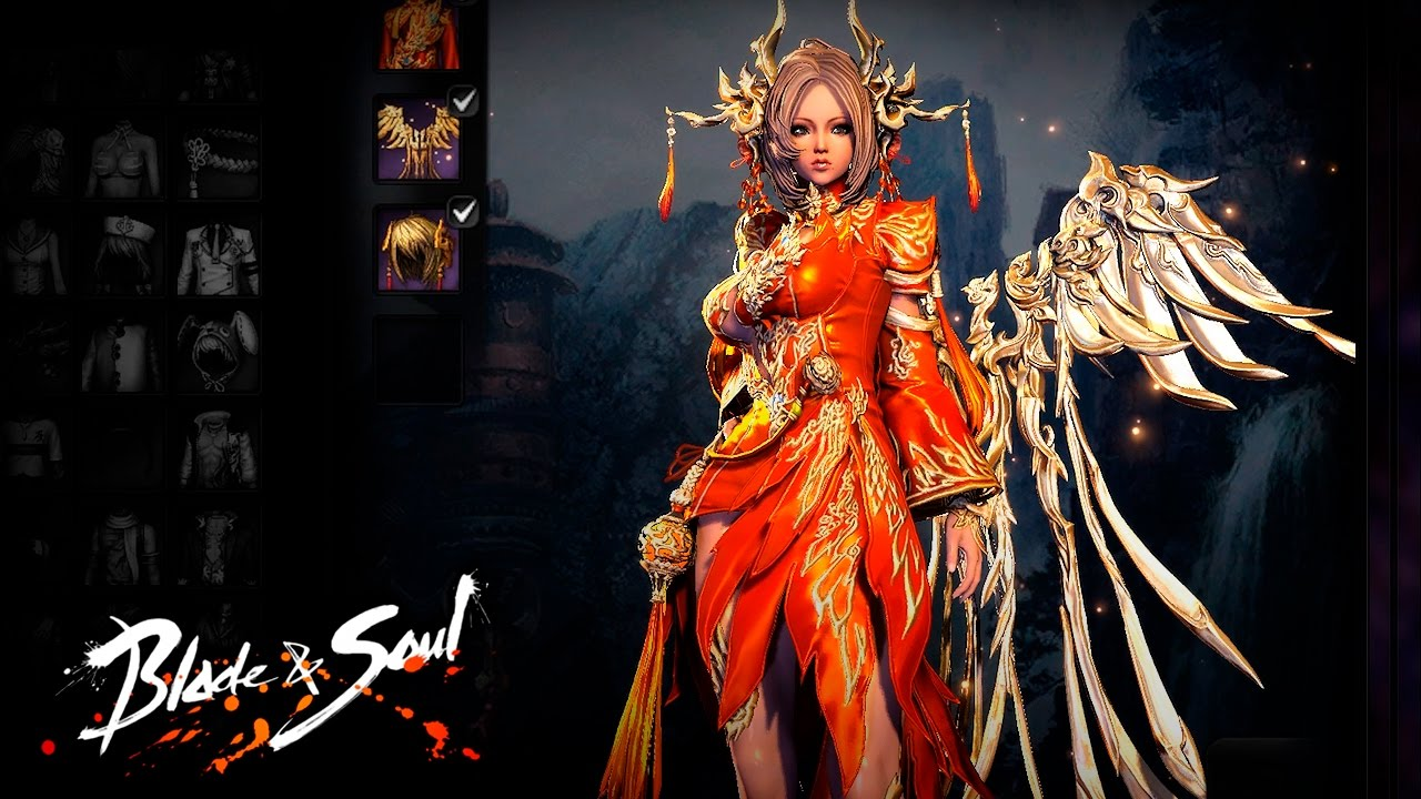 Blade & Soul 4.0 - New Costumes - F2P Update - (Profile&Mod Included) - KR  - YouTube
