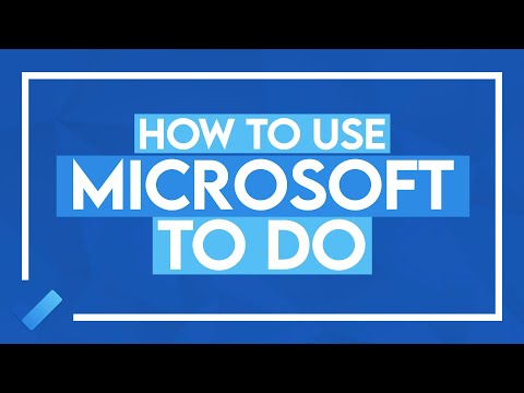 How to Use Microsoft To Do: MS To Do Full Tutorial