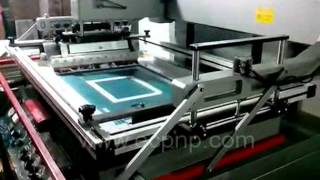 Precision Flat Bed Screen Printer