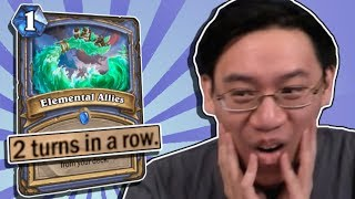 Trump Learns the Truth About Elemental Allies - DoD Cyclone Mage! | Standard | Hearthstone