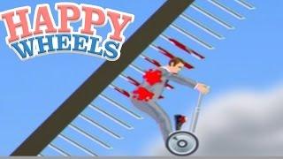 史上最悪の歩きスマホ事故 - Happy Wheels 実況プレイ thumbnail