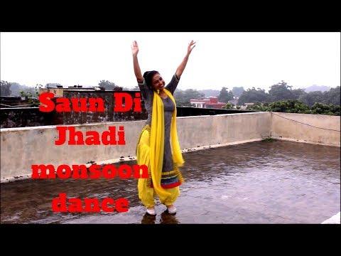 SAUN DI JHADI [free style rain dance ] Monsoon | Bhangra | Ripanpreet sidhu