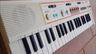 Casio, Casiotone, MT-52, Vintage Mini Keyboard, Analog Rhythm