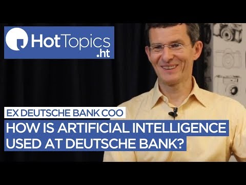 How is weak AI used at one of the world's largest banks?
