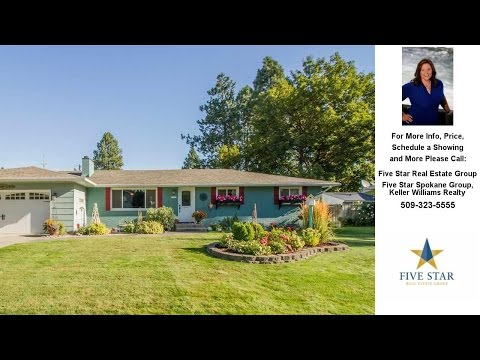 11505 E 25th, Spokane Valley, WA Presented by Five Star Real Estate Group.