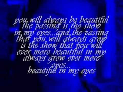 beautiful in my eyes elton johnwmv  Tess