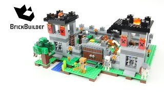 LEGO MINECRAFT 21127 The Fortress version D - Speed Build for Collecrors - Collection 57 sets