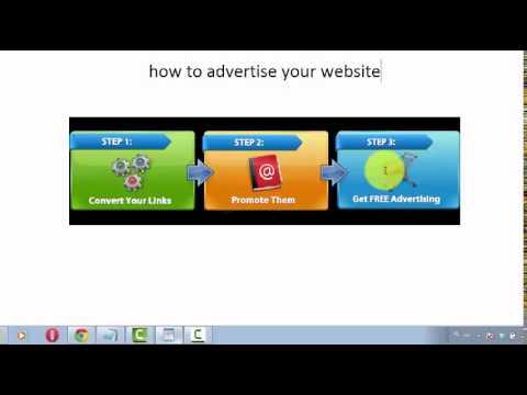 Promote Website Internet Advertising