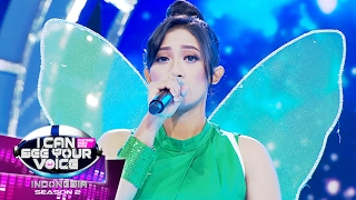 Amazing! Suara TinkerBell Diluar Dugaan! Keren Banget!  - I Can See Your Voice Indonesia (13/2)