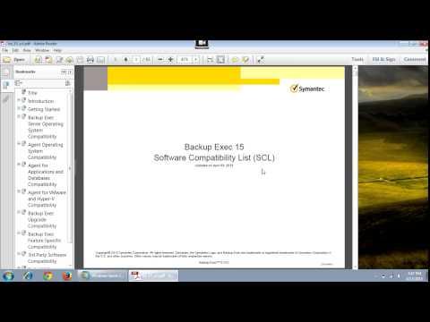 Backup Exec 15 Installation on Windows 2008 Server