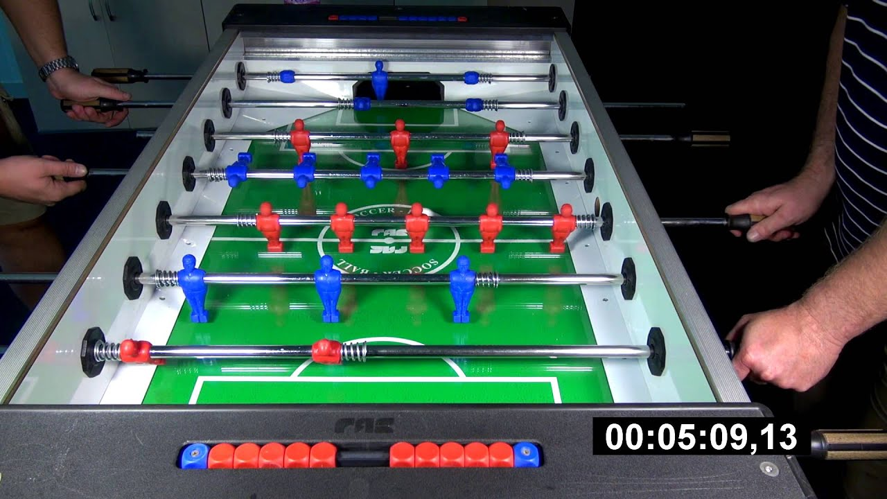 ITALYGERMANY Table Football YouTube - Italian foosball table