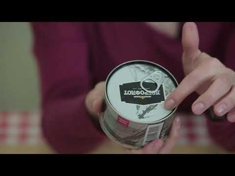 Салат из морской капусты Доброфлот: видеообзор
