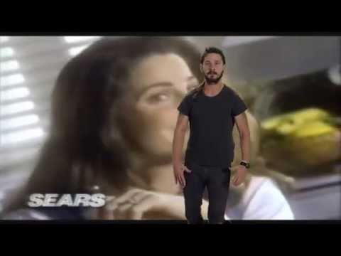 shia lebeouf motivates 90s sears air conditioning commercial youtube