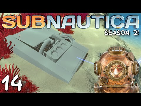 """Subnautica Gameplay S02E14 - """"NUCLEAR POWER PLANT!!!"""" 1080p PC"""