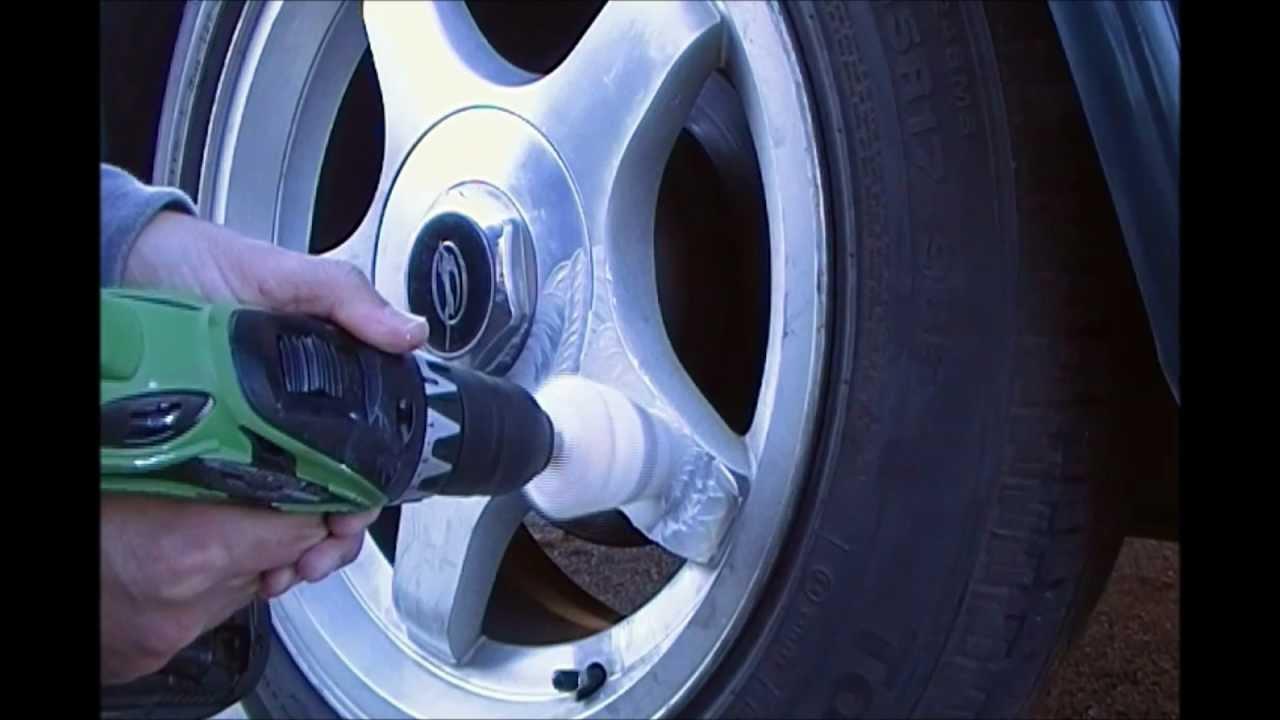 94 95 96 Impala SS polishing stock rims DIY under 20