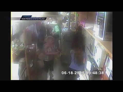 Surveillance video of pistachio farm hostage situation in New Mexico
