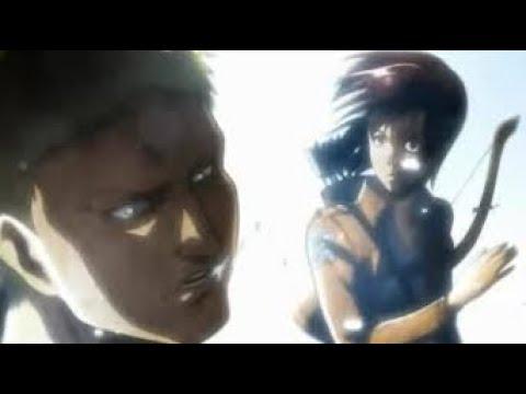 【進撃の巨人】サシャがライナーに暴力をふるうようです
