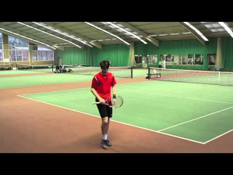 Andrew Watson Tennis- College video