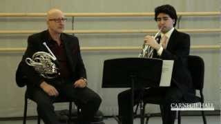 Carnegie Hall Horn Master Class: Beethoven