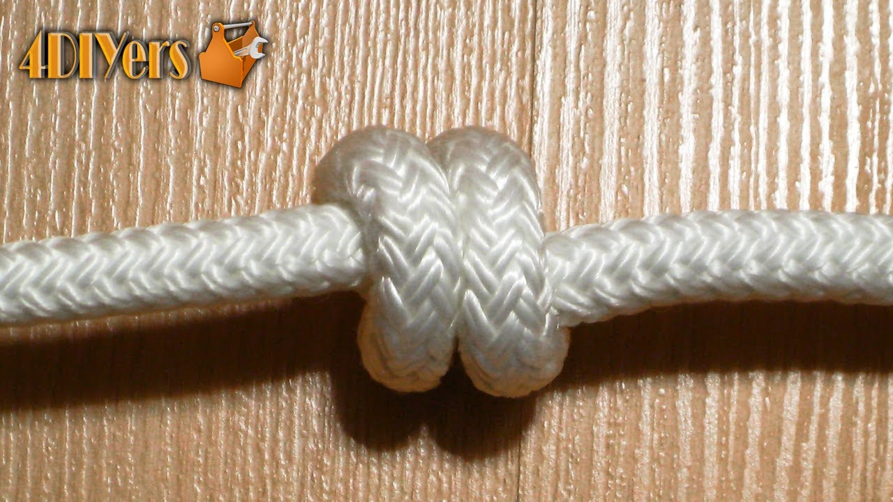 Diy tying a double overhand knot youtube youtube premium ccuart Choice Image