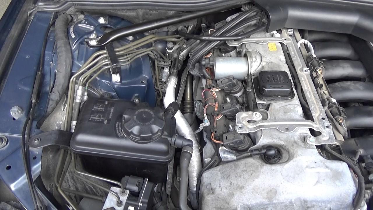 BMW E60 530i MSport Diagnostics Eccentric Shaft Sensor Fault    PT 4