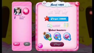 Candy Crush Saga - Level 1006 - No boosters ☆☆ :)