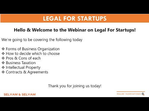 Legal for Startups