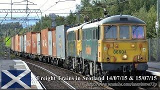 Video Freight Trains in Scotland 14/07/15 & 15/07/15 download MP3, 3GP, MP4, WEBM, AVI, FLV Maret 2018