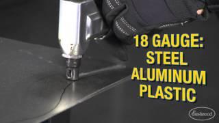 Eastwood Air Nibbler - Cuts 18 Gauge Steel Aluminum & Plastic - Eastwood