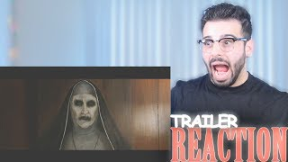 THE NUN - Official Teaser Trailer Reaction And Review